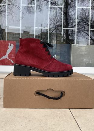 Semler женские ботинки германия оригинал натуральная замша
