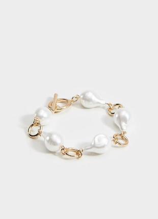 Трендовий браслет із перлів mohito