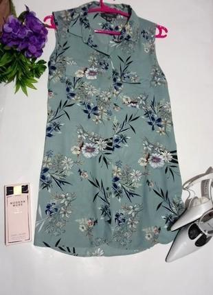 Блуза цветочный принт primark