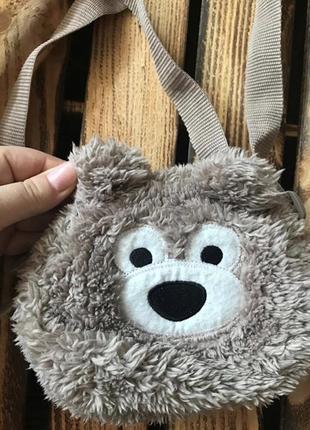 Детская сумка мишка