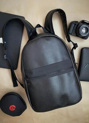 💥новинка⭐️ новый шикарный рюкзак pu кожа / городской tommy / портфель / сумка