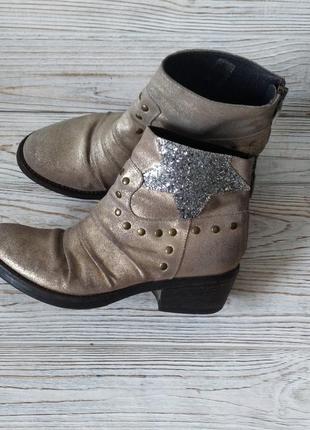 Кожаные ботинки meline италия