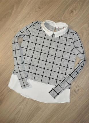 Тонкий свитер на 12-13лет