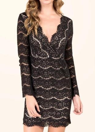 Кружевное платье francesca's