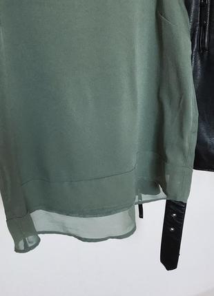 Шикарная блуза майка под шифон от atmosphere. р/ 12/405 фото