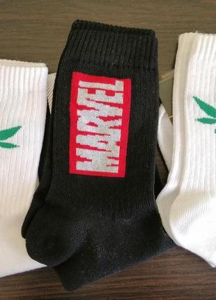 Носки с принтамм / шкарпетки з надписами