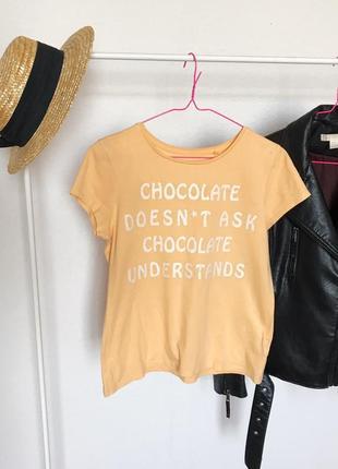 Распродажа!🔥 стильная футболка с надписью от c&a. р-р s/m3 фото