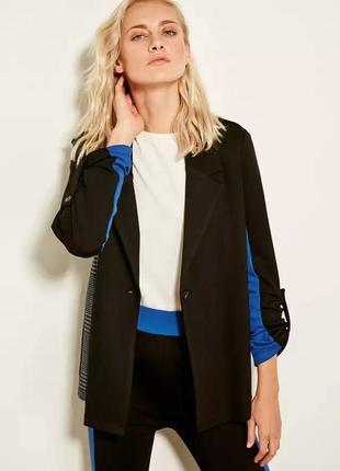 Пиджак женский блейзер комбинированный турция m-xl