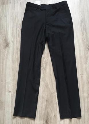 Классические чёрные брюки m&s h&m zara
