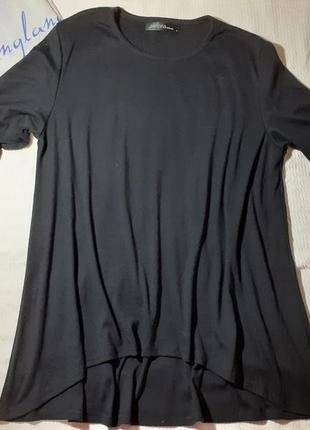 Блуза блузка свободного кроя свободная удлиненная сзади трикотажная свитер кофта реглан