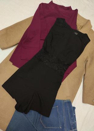 Комбинезон с шортами с гипюром на талии костюмка ax paris