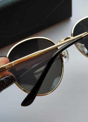Солнцезащитные очки - уф защита - черные в золоте реальные фотографии!!8 фото