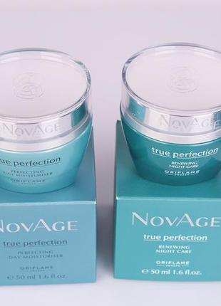 Набор для лица совершенства кожи novage true perfection 25+