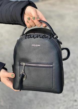 Рюкзак женский david jones 5957-2 черный классический городской трансформер