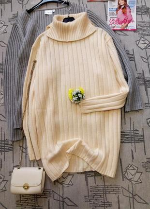 Шикарный ванильный свитер, jasephine rauch, размер 18-20