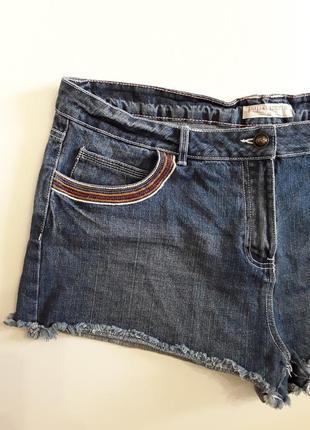 Фирменные джинсовые шорты6 фото