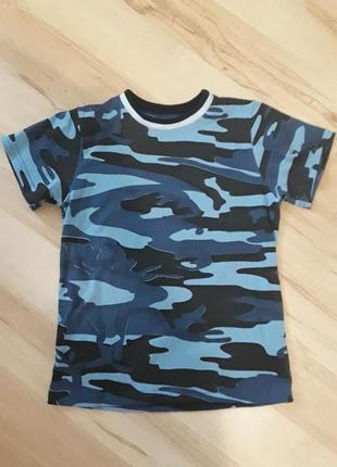 Футболка для хлопчика, футболка для мальчика,  камуфляжна футболка