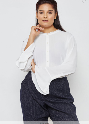 Элегантная блуза - рубашка mango 52-54
