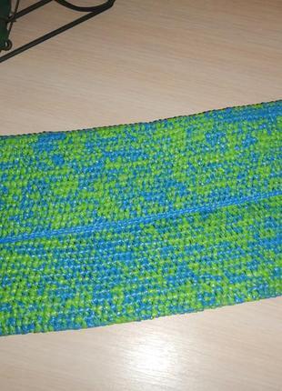 Плетеный оригинальный клатч invisiblesisters