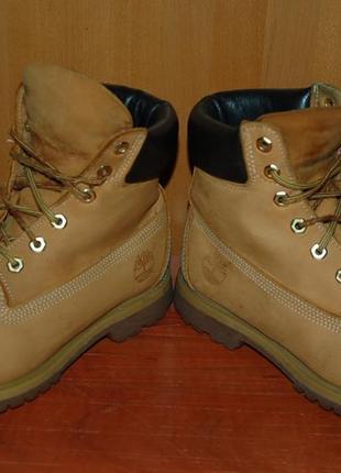 Кожаные ботинки 39 р timberland оригинал