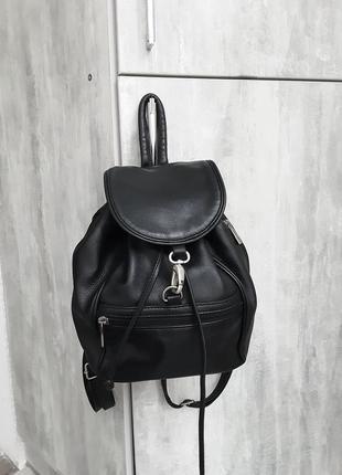 Кожаный городской рюкзак em-el bags