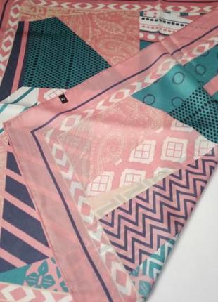 7-27 хустинка шарфик платок для волос, на шею, на руку, на сумку2 фото