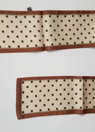 7-24 хустинка стрічка лента твилли шарфик платок для волос, на шею, на руку, на сумку3 фото