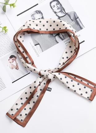 7-24 хустинка стрічка лента твилли шарфик платок для волос, на шею, на руку, на сумку1 фото