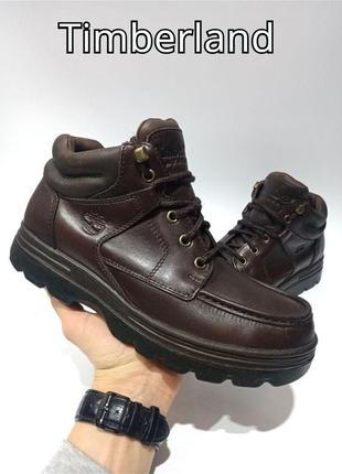 Кожаные ботинки timberland gore-tex оригинал