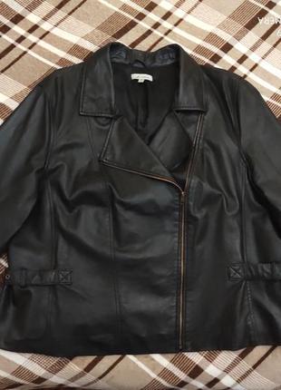 Кожаная куртка косуха autograph, p.20/22, ог 135/140 см