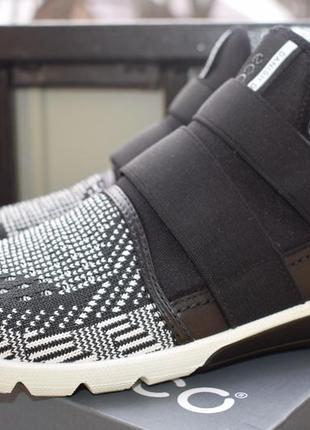 Шикарные кроссовки кросовки кеды мокасины ecco intrinsic 2 low cut