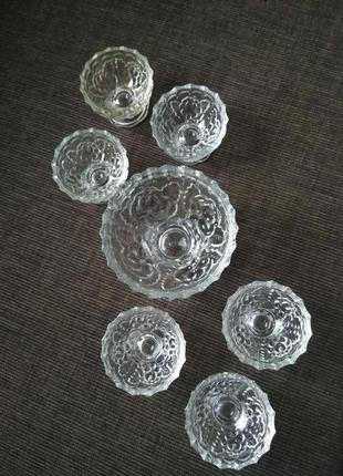 Набор вазочек для варенья, креманок, 7 шт.