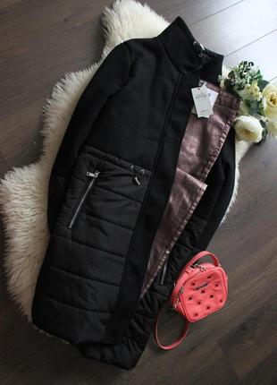 Очень красивое пальто/куртка на крупную женщину рр 16-18