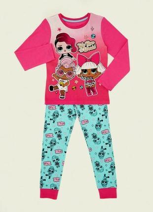 Пижамка на девочку от dunnes stores на 6-7 лет