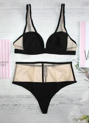 Kомплект белья victoria's secret из премиум коллекции luxe lingerie s