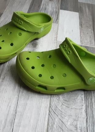 Шлепки crocs. 35р. оригинал