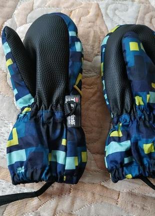 Зимние термо варежки 4-5 лет краги, рукавицы lupilu 3,5