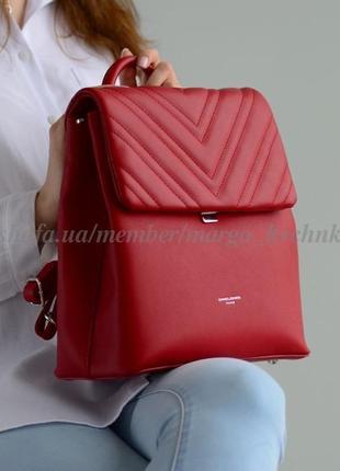Рюкзак david jones 6250-2t красный
