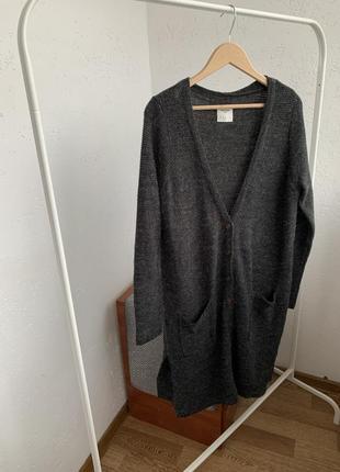 Кардиган длинный вязаный платья вязаное