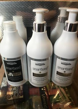 Система средств для укрепления волос l'oreal professionnel smartbond step 2 pre-shampoo