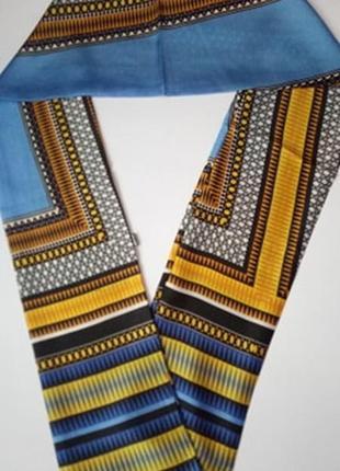 7-26 хустинка стрічка лента шарфик платок для волос, на шею, на руку, на сумку