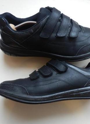 Кожаные кроссовки clarks 41p