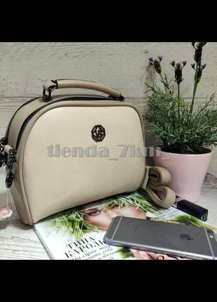 Женская сумка через плечо / клатч eteralsmile hx129 khaki/pink