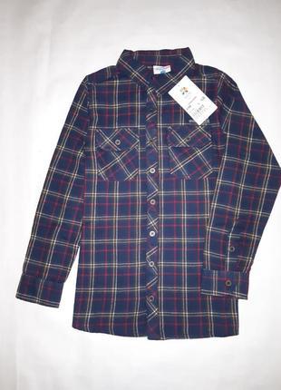 Рубашки topolino фланелька