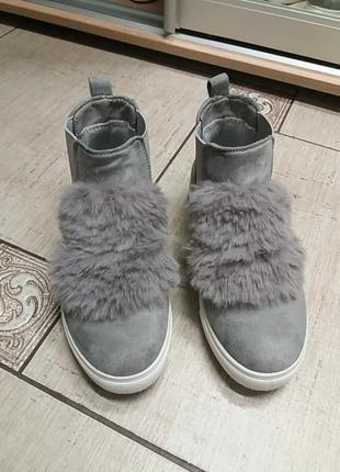 Кеды,кроссовки с мехом