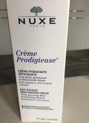 Nuxe creme hydratante для нормальной и комбинированой кожи