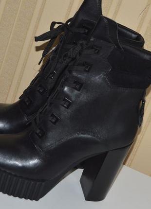 Черевики шкіра kendall + kylie розмір 43 42 11м, ботинки кожа