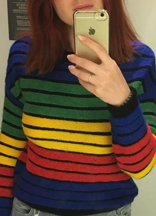 Радужный свитер new yorker