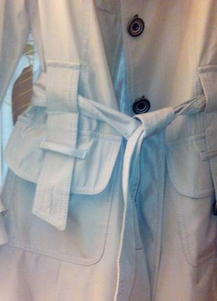 Элегантный демисезонный плащ пальто