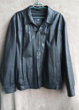 Кожаная куртка bugatti